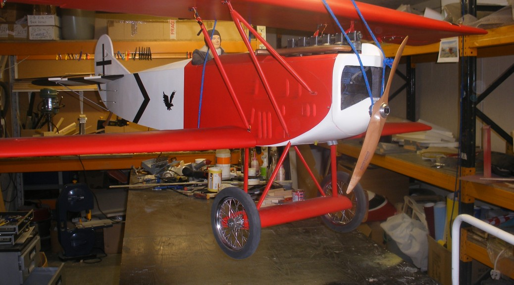 Fokker D7 Complete Model on Vannasa