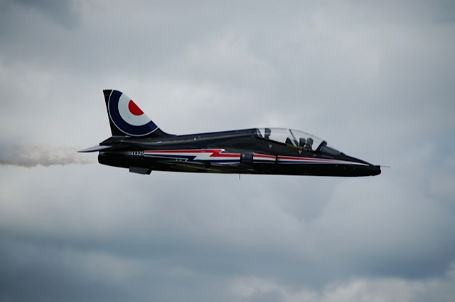 BA Hawk Fly Past