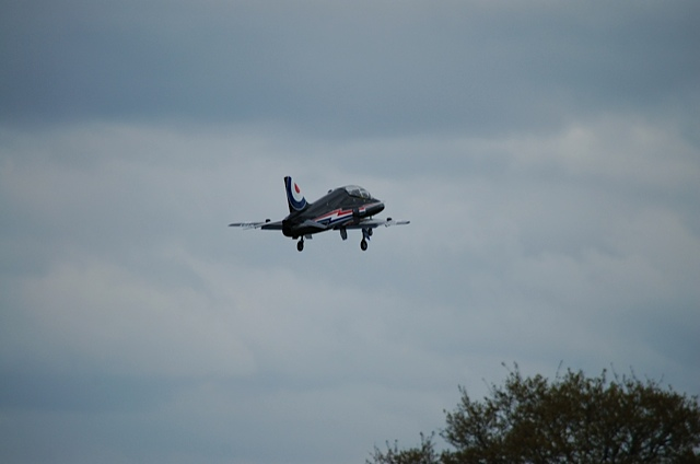 BA Hawk Gear Down
