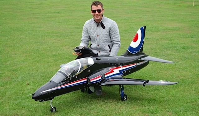 BA Hawk with owner Matthew