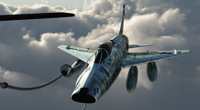 F-100 Super Sabre Refuel