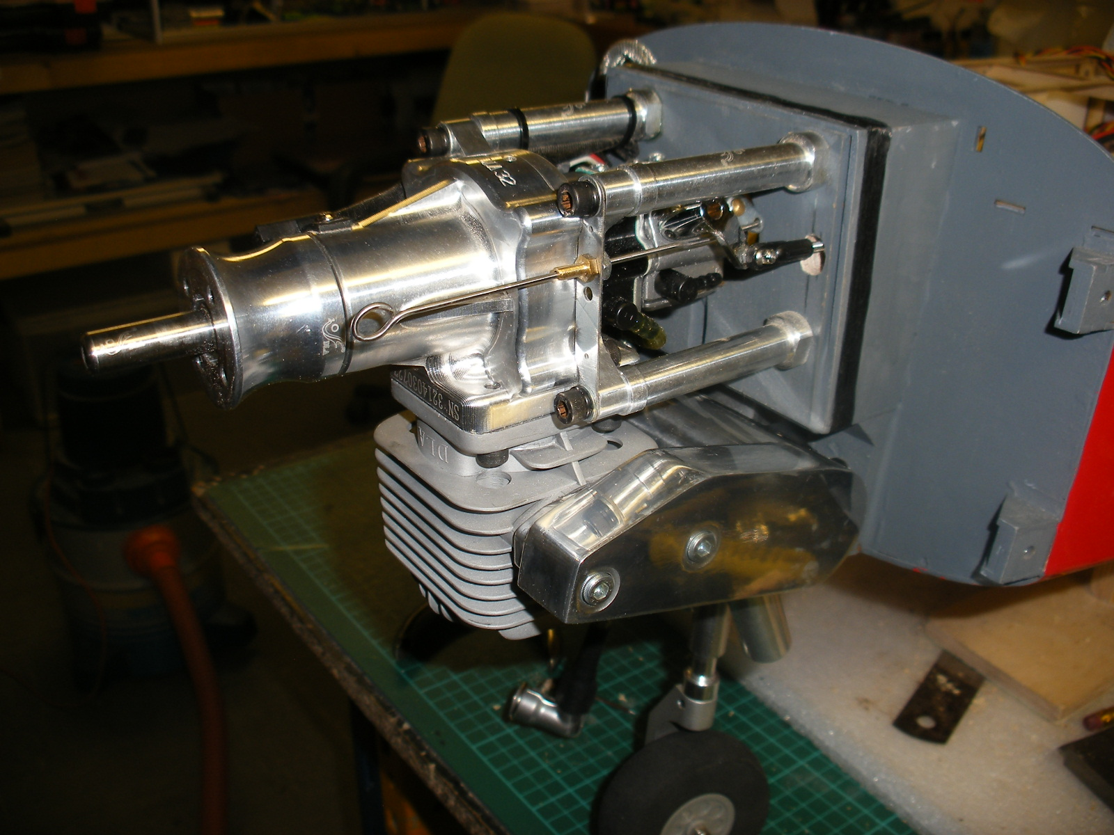 S.A. Bulldog Engine