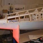 P47 Fuselage Construction