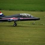 BA Hawk Touchdown