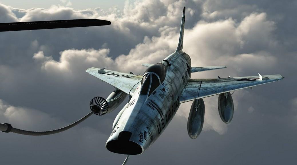 F-100 Super Sabre Refuel