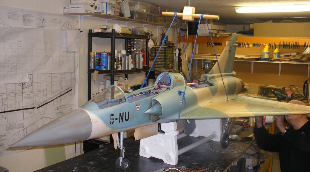 Mirage 2000 Balance Rig